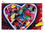 Mosaic Heart Carry-all Pouch