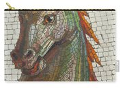 Mosaic Horse Carry-all Pouch