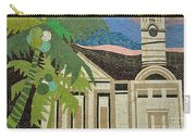 Mosaic Of Church With Palm Tree Carry-all Pouch