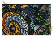 Mosaic Pattern On Wall Carry-all Pouch