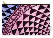 Mosaic Quarter Circle Top Left  Carry-all Pouch