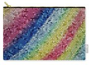 Mosaic Rainbow Carry-all Pouch