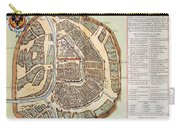 Moscow: Map, 1662 Carry-all Pouch