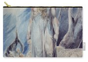Moses And The Burning Bush Carry-all Pouch