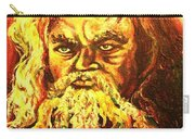 Moses At The Burning Bush Carry-all Pouch