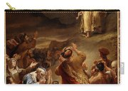 Moses Descends From Mount Siniai With The Ten Commandments Carry-all Pouch