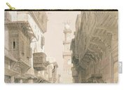 Mosque El Mooristan, Cairo, From Egypt Carry-all Pouch