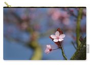 Moss And Blossoms Carry-all Pouch