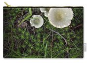 Moss And Fungi Carry-all Pouch