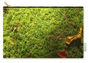 Moss And Leaves Carry-all Pouch