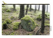 Moss-covered Boulder Carry-all Pouch