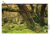 Moss Covered Trees In A Forest Carry-all Pouch