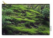 Moss Forest In Kyoto Japan Carry-all Pouch