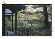 Moss Garden Temple - Kyoto Japan Carry-all Pouch