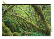 Moss Grows On Vine Maple Trees  Acer Carry-all Pouch