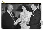 Moss Hart And Kitty Carlisle Carry-all Pouch