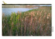Moss Landing Washington North Carolina Carry-all Pouch by Joan Meyland