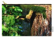 Moss On The Evergreens Carry-all Pouch