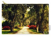 Moss On The Trees At Monks Corner In Charleston Carry-all Pouch