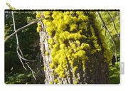 Moss On Tree Along Sentinel Dome Trail In Yosemite Np-ca Carry-all Pouch