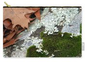 Mossy Leaves Carry-all Pouch