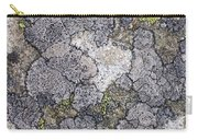 Mossy Mouldy Rock Texture Carry-all Pouch