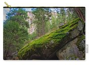 Mossy Rocks Along Vernal Falls Trail Carry-all Pouch