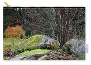 Mossy Rocks Garden Carry-all Pouch