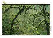 Mossy Trees Leafless In The Winter Carry-all Pouch
