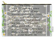 Most Powerful Prayer With Daisies Carry-all Pouch