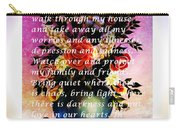 Most Powerful Prayer With Flowers In A Vase Carry-all Pouch