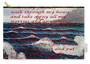Most Powerful Prayer With Ocean Waves Carry-all Pouch