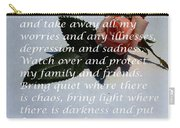 Most Powerful Prayer With Rosebud Carry-all Pouch
