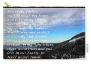 Most Powerful Prayer With Winter Scene Carry-all Pouch