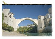 Mostar Bridge In Bosnia Carry-all Pouch