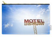 Motel Sign Carry-all Pouch