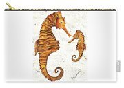 Mother And Baby Seahorse Carry-all Pouch