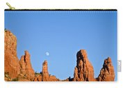 Mother And Child And Moon Carry-all Pouch