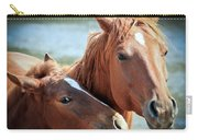Mother And Filly Carry-all Pouch