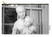 Mother And Child Statue Carry-all Pouch
