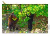 Mother Bear And Cub Carry-all Pouch