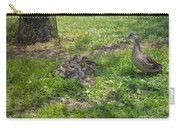 Mother Duck With Nest Carry-all Pouch