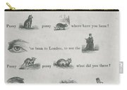 Mother Goose In Hieroglyphics, 1855 Carry-all Pouch
