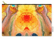 Mother Nature - Abstract Goddess Art By Sharon Cummings Carry-all Pouch