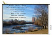 Mother Natures Canvas Carry-all Pouch