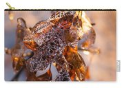 Mother Nature's Christmas Decorations - Golden Oak Leaves Jewels Carry-all Pouch