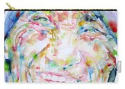Mother Teresa - Watercolor Portrait Carry-all Pouch