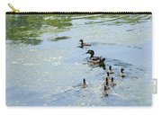 Mother Wood Duck Carry-all Pouch