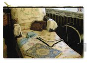 Mother's Chintz Chaise In The Corner Carry-all Pouch by RC deWinter