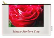 Mothers Day A Red Rose Carry-all Pouch